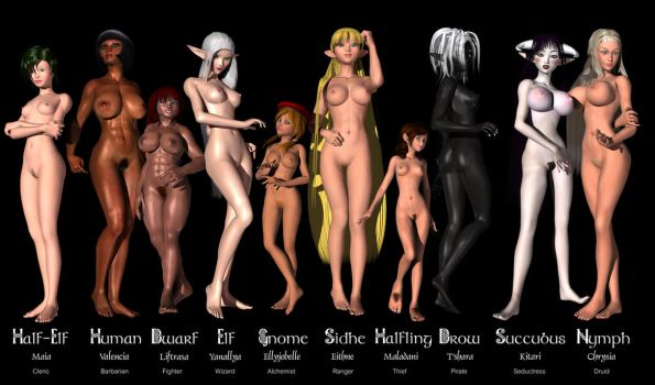 Fantasy Girls - Extended Edition by Sailmaster-Seion