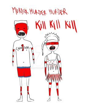 Die Antwoord by lescatfat