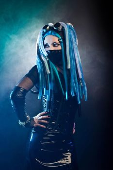 Cybergoth by mysteria-violent