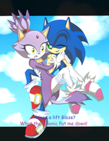 Need A Lift? by YzzyTheHedgie123