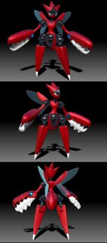 Mega Scizor by R-no71