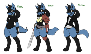 Outfits CasualTuxKnight by DewwyDarts