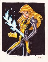 Magik Commission by em-scribbles