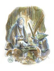 Tea Time on Dagobah by mikemaihack