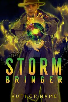 Storm Bringer Book Cover by DLR-Designs
