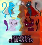 Mewstic Outlands Cover by LightningGirl95