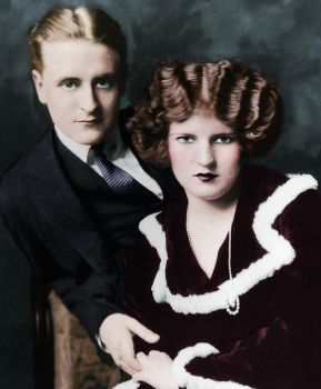 F. Scott and Zelda Fitzgerald by xihearthe80sx