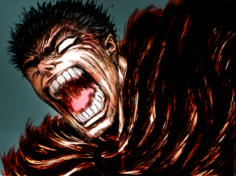 Guts _Gatts_ Coloring by SSXVegeta