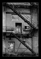 Fire escape by MichelleMarie