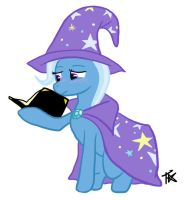 Trixie's Little Black Book by TheParagon