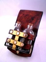 Steampunk 22ml Vial Holster by Skinz-N-Hydez