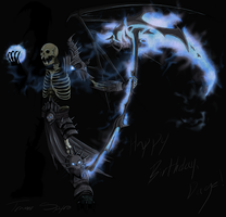 AQW Dage Birthday Comp: The Legion Judge by TrainerSpyro