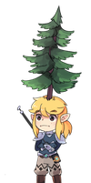 Terry Treehead by Drawn-Mario
