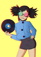 Welcome Back Noodle! by Celestial-N4vigator