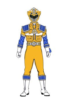 Gold Claw Ranger by kingtrae16