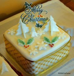 Christmas 2018 Cake 1 by MrWitchblade