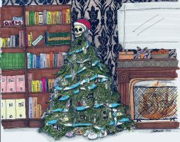 Sherlock's Christmas tree by naturegirlrocks