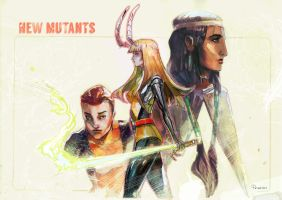 Newmutants by Peter-v-Nguyen
