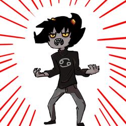 Karkat Doodle July 1 by flyinggumm