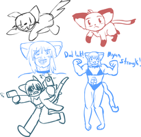 Chat Doodles 3/20/2015 by radstylix