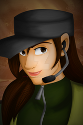 The Young Soldier's Portrait (After) by Nylten