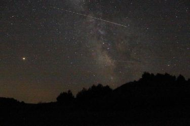 Perseids Meteor Shower and The Milky Way by WxKnowltey