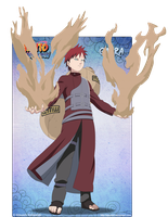 Gaara -old work- by Apostoll