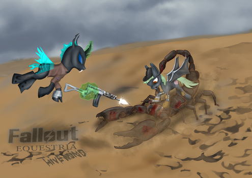 Fallout Equestria, Hivemind, chapter 9  Fallen by AnubicDarque