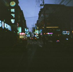 Seoulless: Night Street by neuroplasticcreative