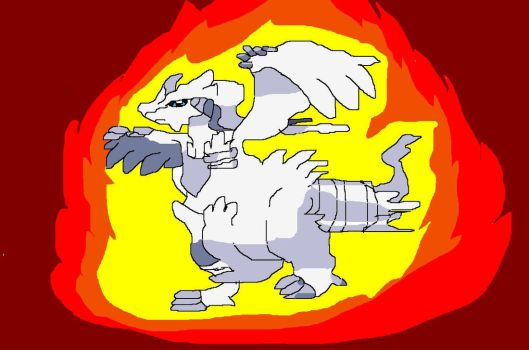 Legendry Reshiram by Yoshibro1