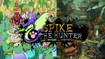 Spike The Hunter - con fondo by Tocachi-Green-Pencil