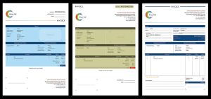 Invoice Design Options by pulsetemple