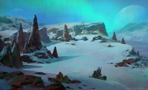 Ice planet 3 by alexson1