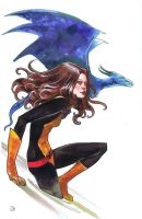 Kitty Pryde by ryuloulou