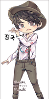 CHIBI_JUNGKOOK_RUN. by MaewenMitzuki