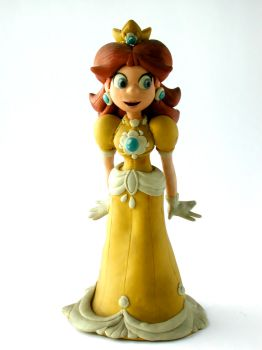 Clay Princess Daisy by FlintofMother3