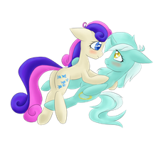 Lyrabon Cuddle by billysan727