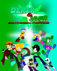 Derek and Jack: Multiversal Fighters Poster by SuperMario1792
