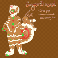 Sweetyeen Advent 04 CLOSED (Gingerbread) read des. by humble-abode