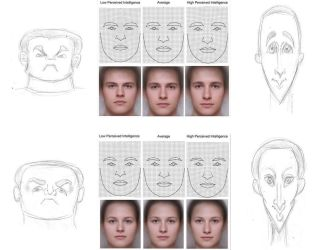 Caricatures of composite faces - intelligence by SamSaxton