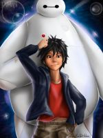 Baymax and Hiro by PedroMA26