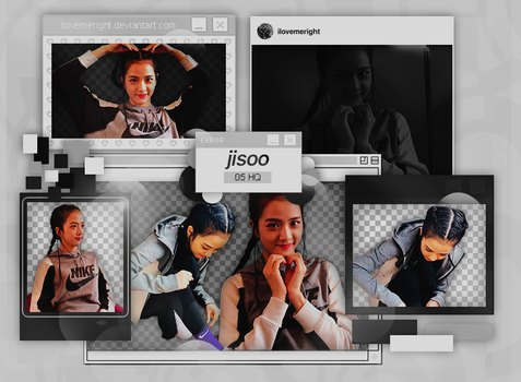 +JISOO (BLACKPINK) |PACK PNG|173 by iLovemeright