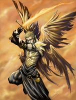 Archangel Michael by Esther-Sanz
