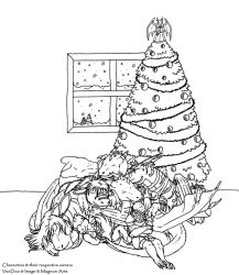 Draggy Group Xmas 2008 by Magnum-Arts