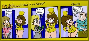 Kickline Short: Change of the Guard by AgentC-24