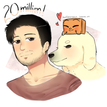 Mark - 20 million subs! by owoSesameowo