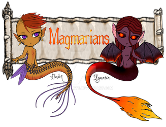 Magmarian Banner by AliceMorte