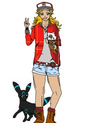 Myself as a Pokemon trainer by multifandomed25