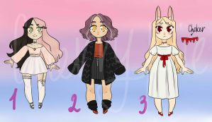 Chibi adopts auction open (1\3) by cherry----pie