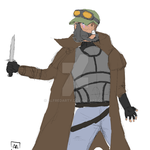 local small man is armed by alfredarty